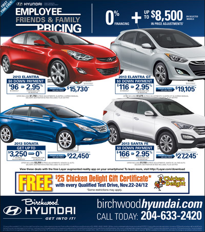 Birchwood-Hyundai ad with Layar